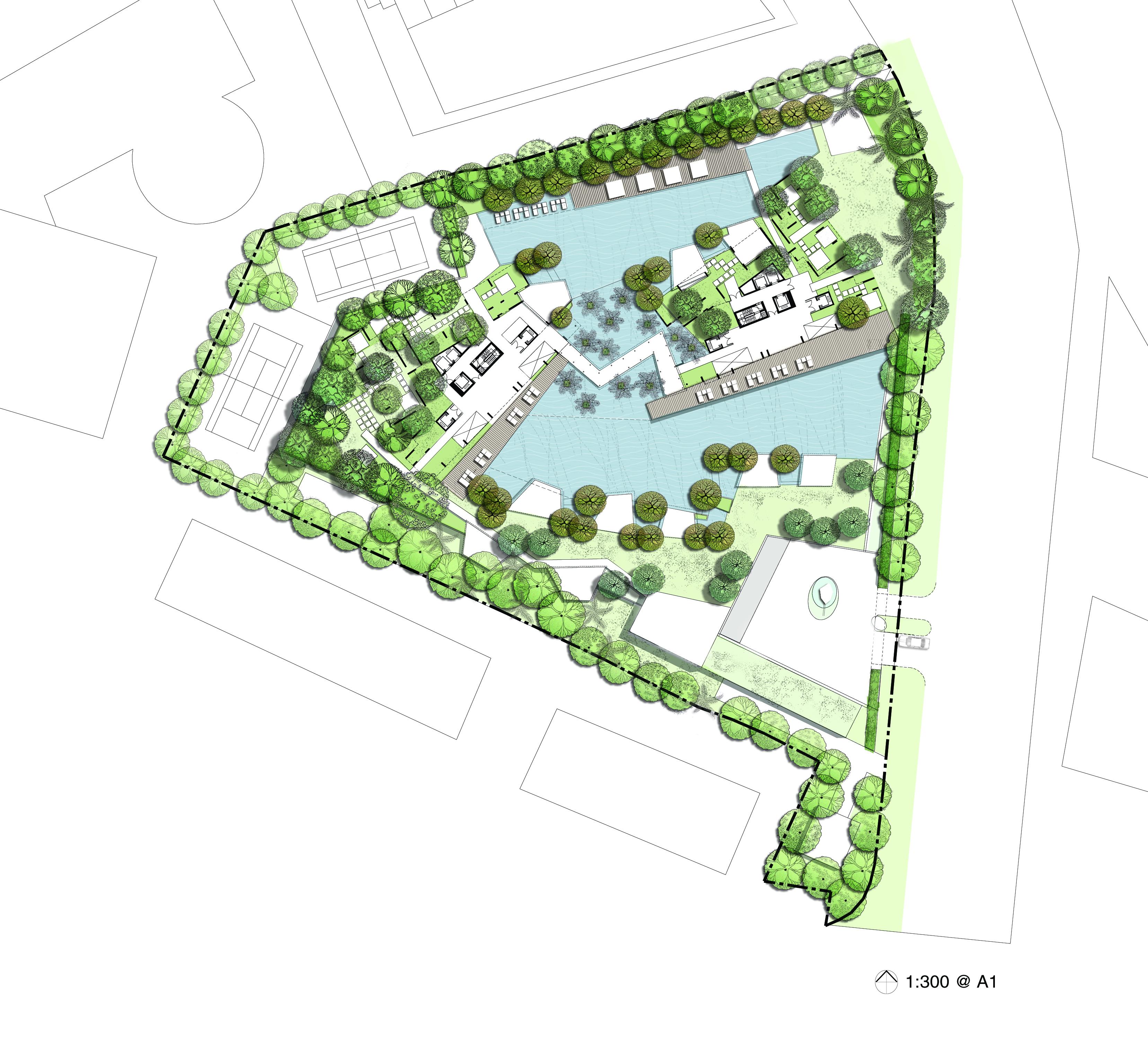 06 Soleil Sinatan Site Plan